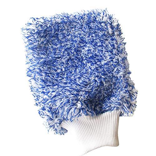 MongKok Handdoek, 1 stuks, voor het schoonmaken van de auto, zachte microvezel, gemakkelijk te drogen