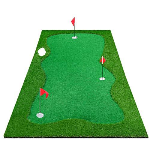 Gracetech Golf Putting Green Indoor/Outdoor, Professional Golf Putting Mat Large Practice...