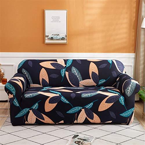 SUUZQK Una Variedad De Estilos De Fundas De Sofá Elásticas No Se Desvanecen, Incluidos Los Sofás Antideslizantes En Forma De L, Se Requieren 2 Fundas De Sofá 4 Seater (230-300 cm)