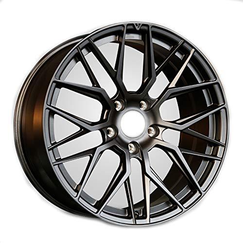 GYZD Alu Felgen 21 Zoll Durchfluss geschmiedete Radlegierung Ersatzrad Auto Rad Maschine Aluminium Felge Passend für R21 *11.5J Reifen Geeignet für macan 718 911 1 (Stück),H