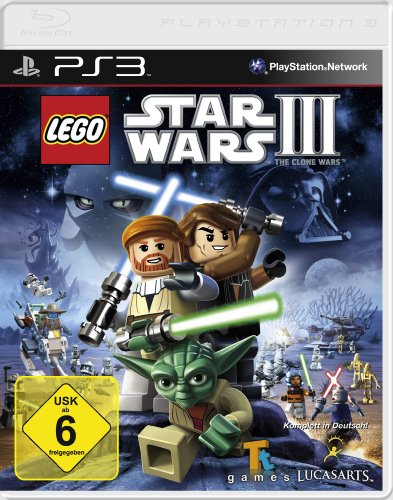 Lego Star Wars 3 - The Clone Wars [Software Pyramide] - [PlayStation 3]