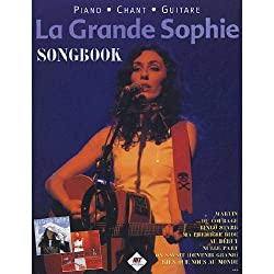 SongBook : La Grande Sophie (Piano - Chant - Guitare)
