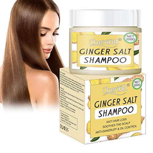 Haar Wachstum Shampoo, Anti-Schuppen Shampoo, Sea Salt Shampoo, Haarausfall und Haar-Behandlung, Hilfe gegen Schuppen und juckende Kopfhaut