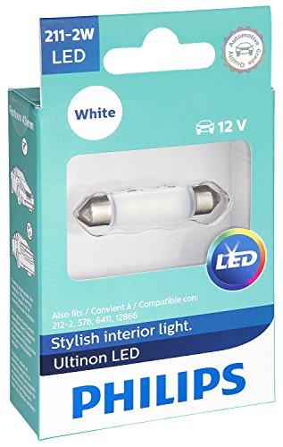 Philips 211-2WLED Ultinon LED (White), 1 Pack