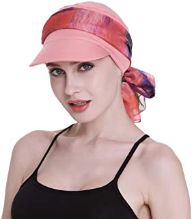 Newsboy Cap for Women Chemo Headwear with Scarfs Gifts Hair Loss Available All Year