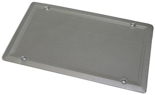 Inline Tube (J-8-7) Bare Metal Rear Speaker Grill Compatible with 1964-72 GM A-Body