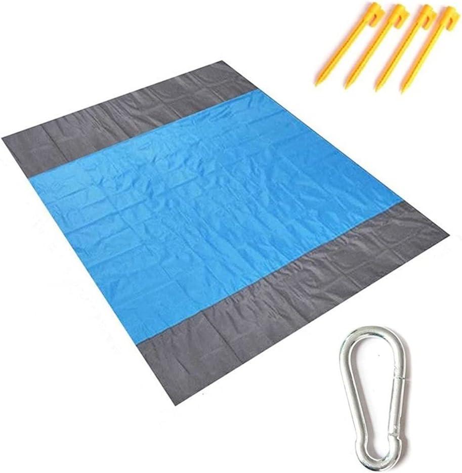 CIJK Beach Mat New Dedication item Picnic Blanket Plaid Outdoor Wa Mesh Foldable