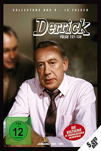 Derrick - Collector\'s Box Vol. 09 (Folge 121-135) [5 DVDs]