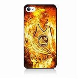 Coque pour Samsung Galaxy A530/A8 2018 Stephen Curry Golden State Warriors Basket - Curry en Flamme...