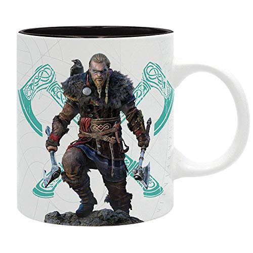 Assassins Creed - Tasse Kaffeebecher - Viking and Valhalla Logo - keramik - Geschenkbox