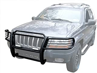 2003 2004 Jeep Grand Cherokee 2002 2001 2000 Fits 1999 OC Parts Jeep Grand Cherokee Deluxe Black Bull Bar//Push Bar