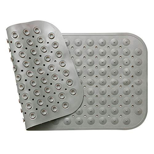 MEMETARO お風呂マット 浴槽 滑り止めマット 転倒防止 介護用品 足裏マッサージ 吸盤付き 大きめ 45*78CM 38*100CM