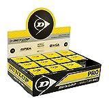 Dunlop D SB PRO 12X1Bbx Palle Squash, Multicolore