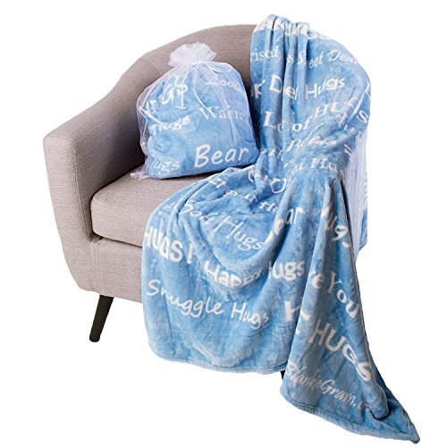 Long Distance Hugs Blanket - Choice of 5 Colors