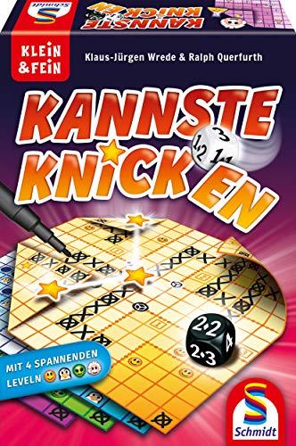 Schmidt Spiele 49387 Kannste knicken, Würfelspiel aus der Serie Klein & Fein, Bunt