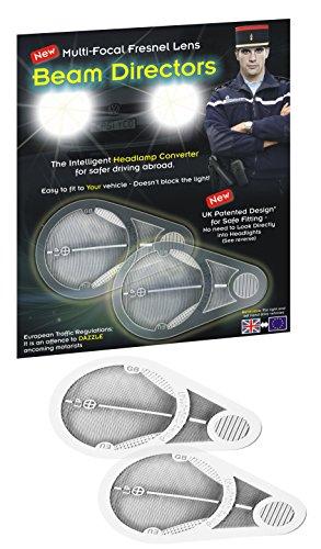 Adaptateurs de phares pour conduite en Europe