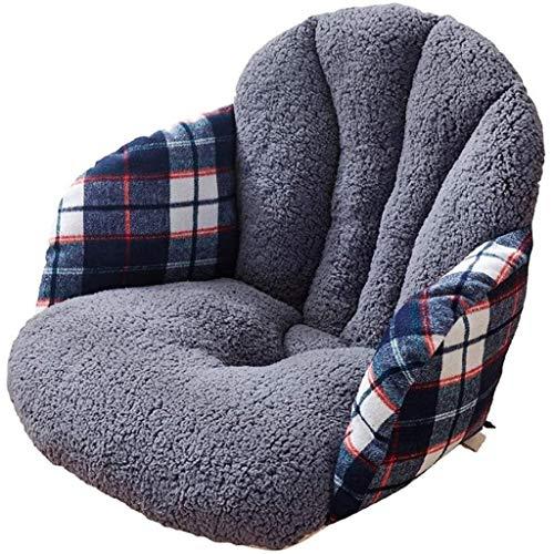 Silla de ratón cojín del asiento del amortiguador de asiento for sillas de cojín Cojines Desk ayuda de la cintura del respaldo, Almohada invierno for asiento de la silla del Ministerio del Interior Au