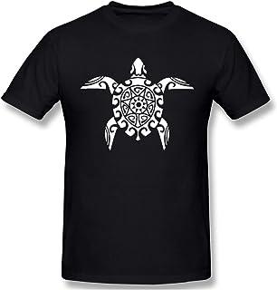 d7a9e4919 Camiseta de Manga Corta con Cuello en O para Hombres de Las Tortugas  maoríes Camisetas Casual