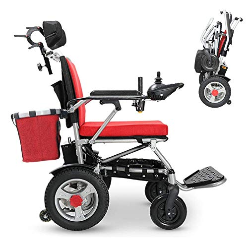 Why Choose NADAENW Portable Folding Electric Powered Wheelchair Lightweight Smart Chair Personal Mob...