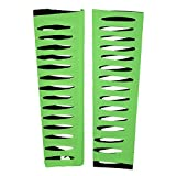 WWE Authentic Jeff Hardy Neon Green Arm Sleeves