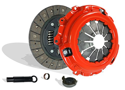 Clutch Kit compatible with Csx Rsx Civic Type-S Si Base Coupe 2-Door Sedan 4-Door 2006-2011 2.0L l4 GAS DOHC Naturally Aspirated (6 Speed Trans; Flywheel Spec: 0.047+; Clutch Stage 1; 08-037R)