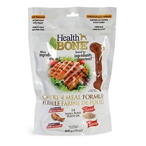 Omega Paw Health Bone Small Chicken Dog Treats, 14-Ounce