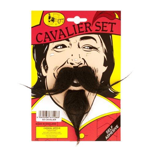 Cavalier Moustache et Barbe-Set - Black [Jouet]