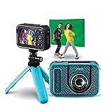 Vtech kidizoom video studio hd, cámara hd, multifunción, efectos especiales, trucados - versión fr
