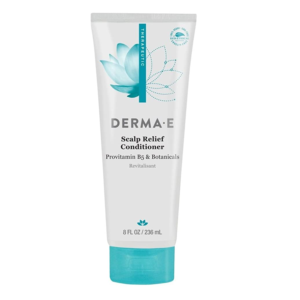 観点ジョリー外交Derma E, Scalp Relief Conditioner, 8 fl oz (236 ml)