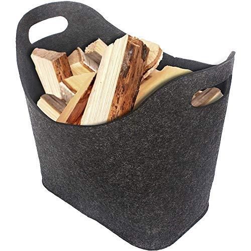 Why Should You Buy Luchuan Firewood Storage Bag/Fireplace Foldable Fireplace Log Storage Basket/Felt...