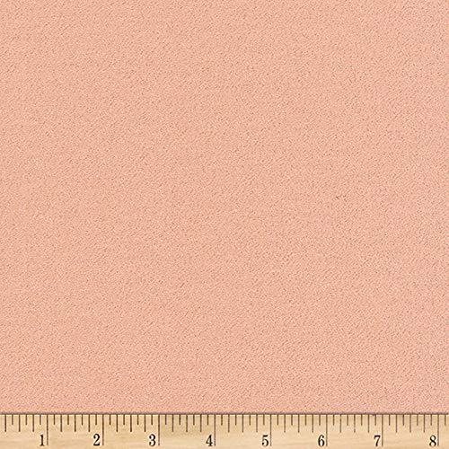 Cloud 9 Glimmer Rose Gold Fabric by The Yard