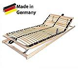 Betten-ABC Max1 K+F, Lattenrost, fertig montiert mit Kopf- und Fußteilverstellung, Holm durchgehend Größe 90x200