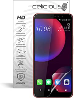 Celicious Vivid Invisible Glossy HD Screen Protector Film Compatible with HTC U11 Eyes [Pack of 2]