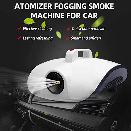 Best Buy! XLQ Portable Air Purifier Remove Peculiar Smell 1500w Fog Machine for Office Room Car Disi...