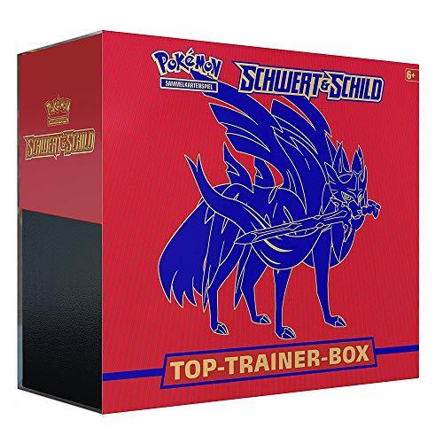 Unbekannt Pokemon Schwert & Schild - Zacian Top-Trainer Boxen