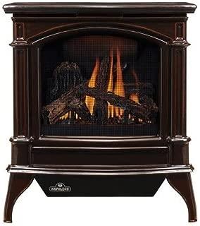 Napoleon GVFS60-1PN Fireplace, Propane Stove Vent Free 30,000 BTU - Porcelain Majolica Brown