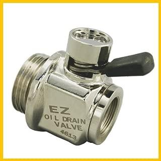 EZ (EZ-2) Silver 18mm-1.5 Thread Size Oil Drain Valve