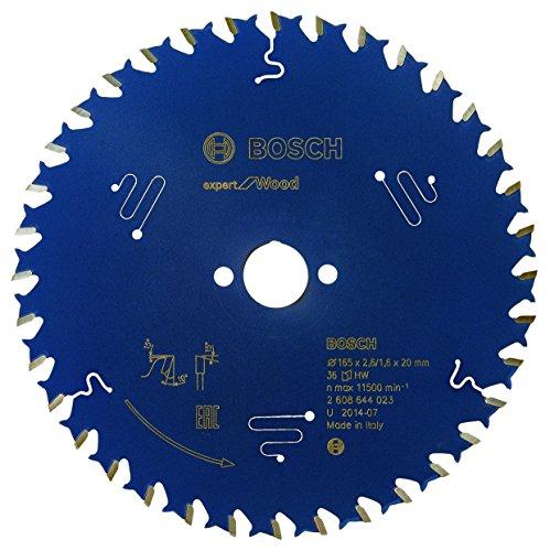 Preisvergleich Produktbild Bosch Professional Kreissägeblatt Expert für Wood (Holz,  165 x 20 x 2, 6 mm,  36 Zähne,  Zubehör Kreissäge)