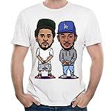 J-Cole Man Ideal Short Sleeve T-Shirt White M