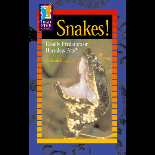 Snakes! audiobook cover art