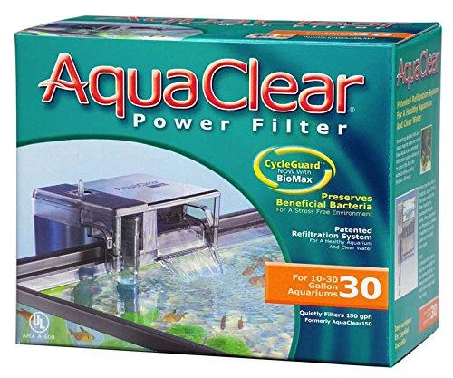 AquaClear 30 Aussenfilter zum anhängen für Aquarien von 18 bis 80 Liter
