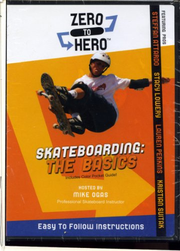 Zero to Hero Skateboarding: The Basics (Hosted By Mike Ogas) Easy to Follow Instructions