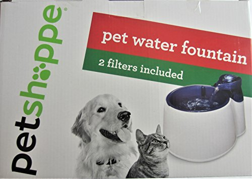 Pet Shoppe Water Fountain For Dog and Cats