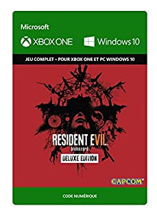 Resident Evil 7 Biohazard: Deluxe Edition [Xbox One/Win 10 PC - Code jeu à télécharger] (B01N4B2JO4) | Amazon price tracker / tracking, Amazon price history charts, Amazon price watches, Amazon price drop alerts