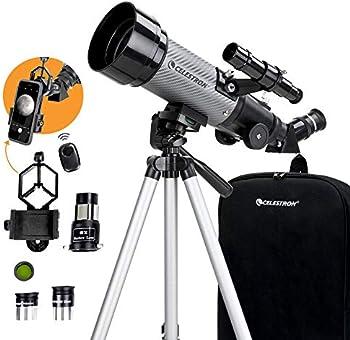 Celestron 70mm Travel Scope DX Portable Refractor Telescope