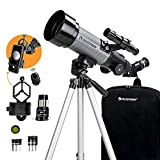 Celestron - 70mm Travel Scope DX - Portable Refractor Telescope - Fully-Coated Glass
