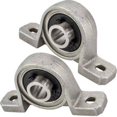 [ JBS basics ] Lagerbock Flanschlager Gehäuselager Welle CNC Drucker KP oder KFL Steh Halterung Metall Industrie Bocklager Achse Welle Maschine (► KP08, 2)