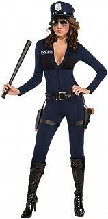 WIDMANN Poliziotta Vestito Cintura Cappello Manette Radio Costumi Completo 246