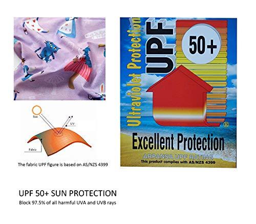 Soui Bonverano - Traje de baño de manga corta para bebé, protección UV 50+, con cremallera, graffiti, 12 Meses