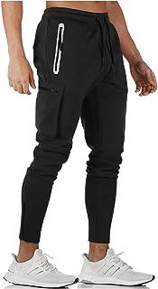 [リコルス] ズボン スポーツ ジャージ ジム パンツ フィットネス トレーニングパンツ ジョガーパンツ 長ズボン メンズ